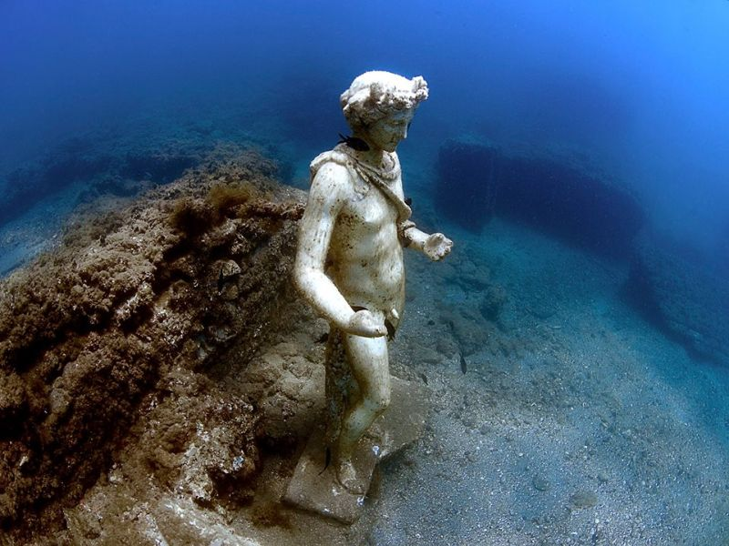 The Underwater Roman City of Baia