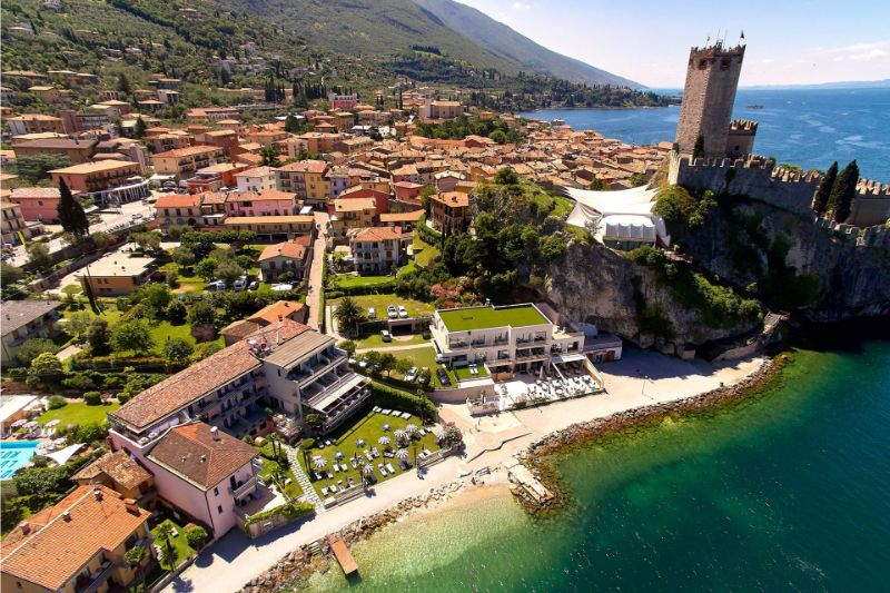 Hotel Castello - Location within Malcesine