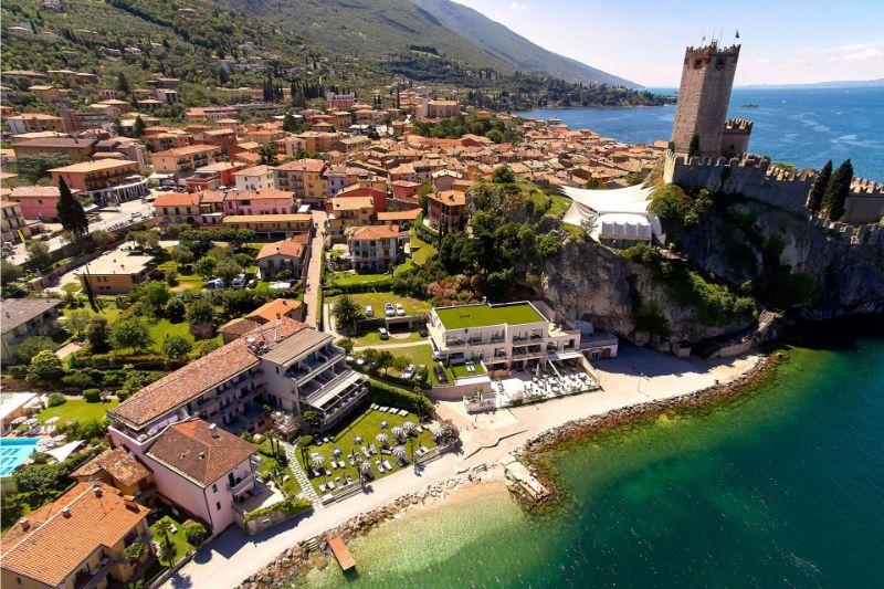 Hotel Castello - Location within Malcesine