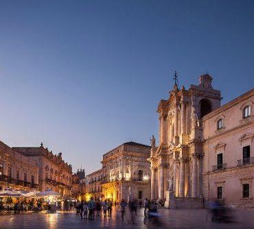 Siracusa Duomo square