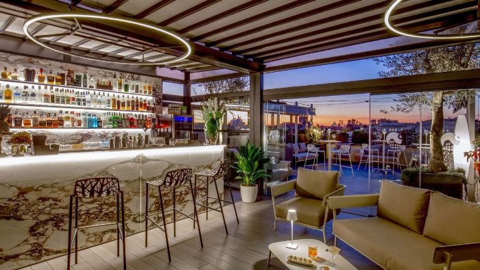 Monti Palace Hotel - Rooftop Terrace