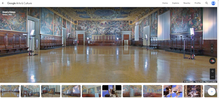 The Doge Palace's on Google Arts & Culture