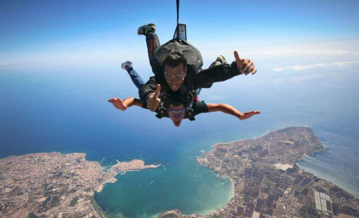tandem jumping siracusa sicily