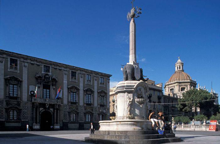 Catania Elephant's Fountain
