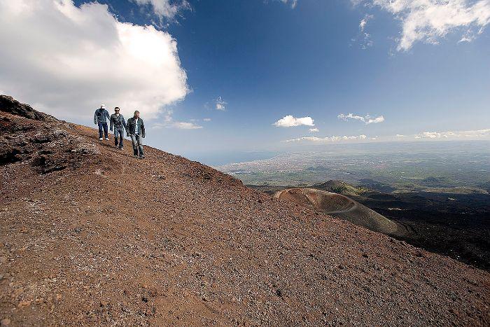Mt Etna Craters