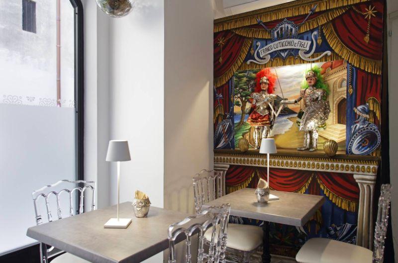 Palazo Natoli Breakfast room