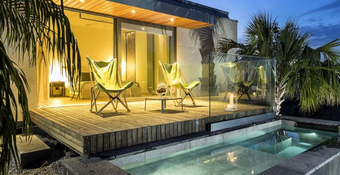 Donna Carmela Romantic Lodge terrace