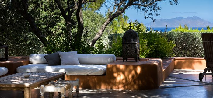 Dimora dell'Olivastro, Favignana, Egadi islands, boutique hotel with a view