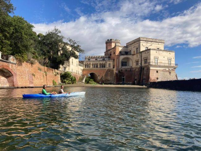 Kayak Napoli Posillipo - Villa Volpicelli
