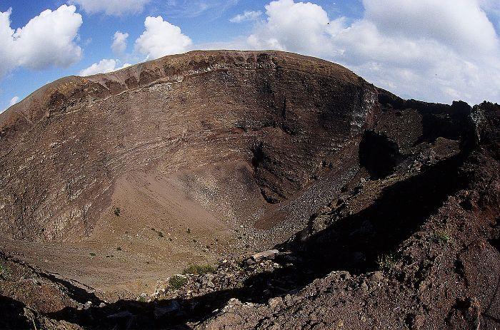 Mt Vesuvius Crater