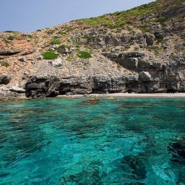 Marettimo sea coves