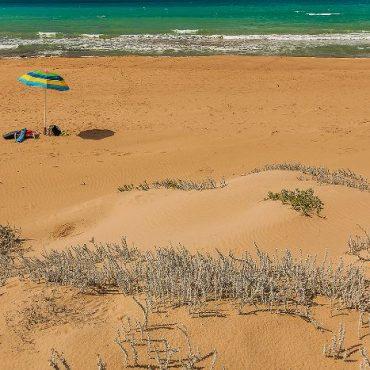 Sandy Beach of Western Sicily